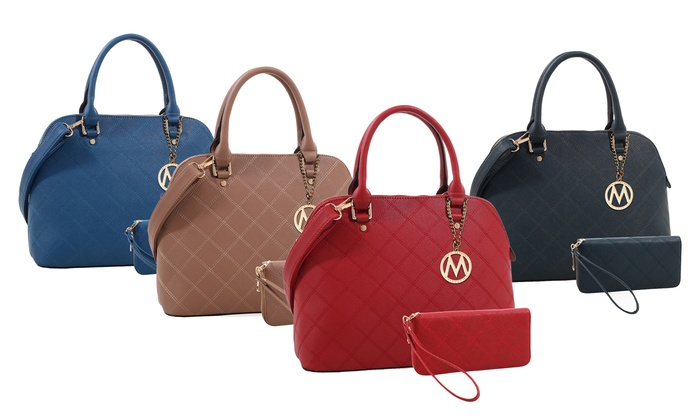 MKF Collection Chantelle Satchel and Wallet by Mia K Farrow