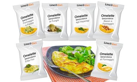 Hasta 30 tortillas francesas de proteínas Line@ Diet, disponibles en varios sabores
