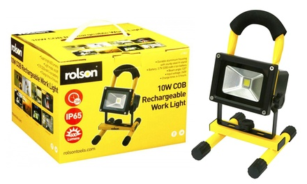 Rolson 10W COB Rechargeable Work Light