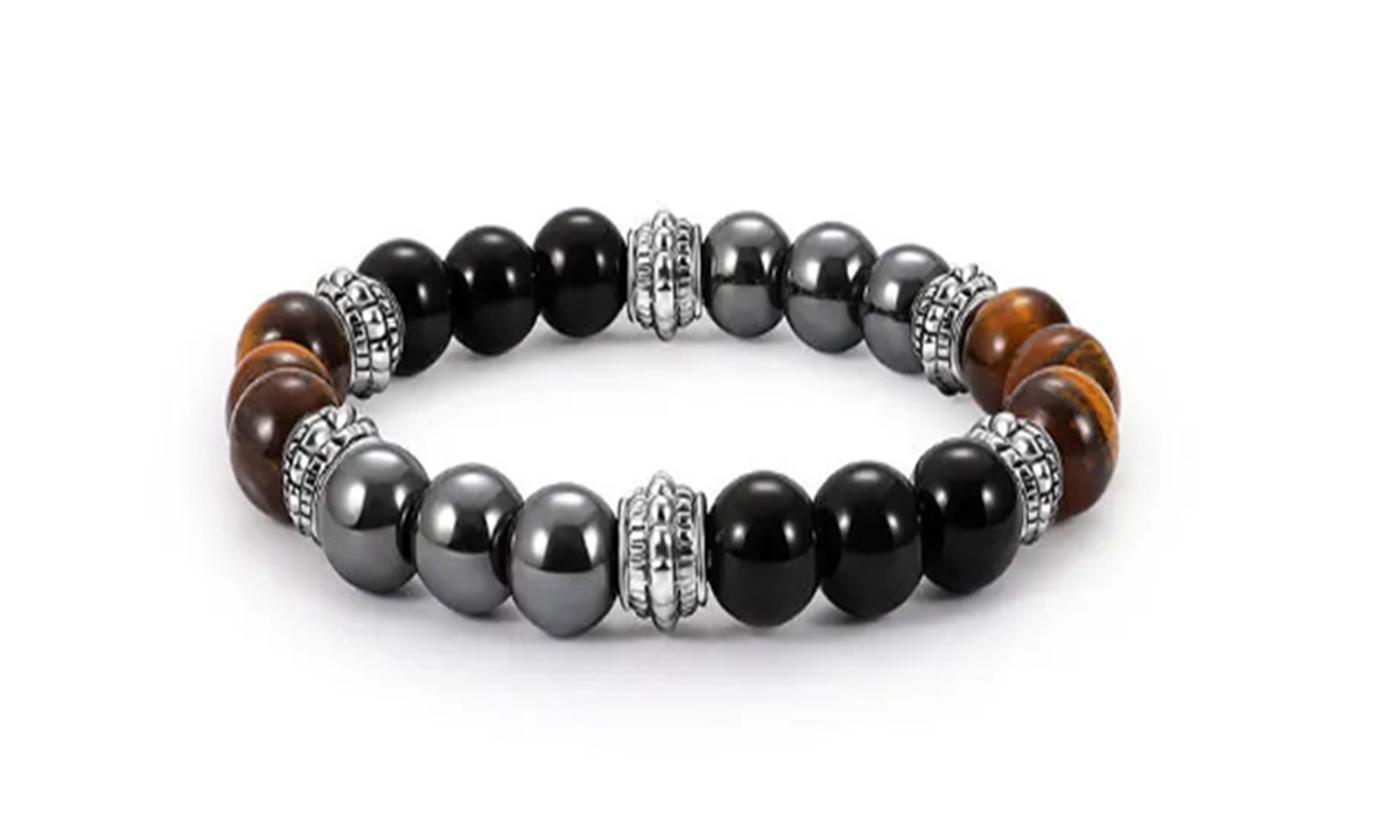 One or Two Men's Beaded Bracelets