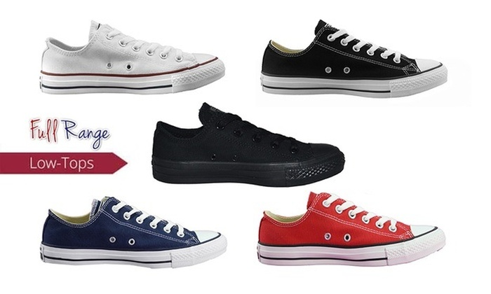 Groupon Goods: $59 for One Pair of Converse Chuck Taylor All-Star Low-Tops in Choice of Colours (Don't Pay $100)