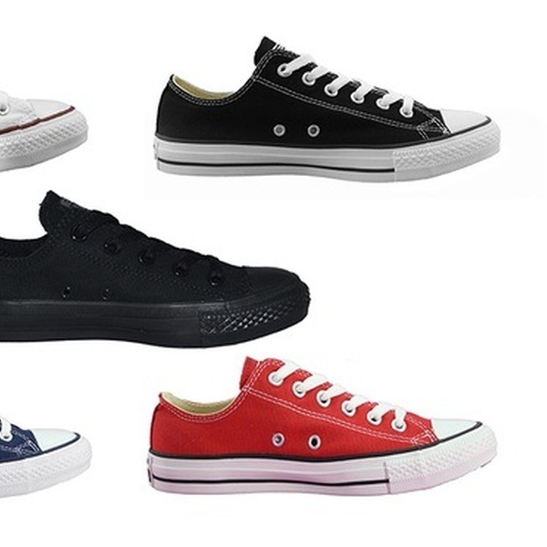 $59 for One Pair of Converse Chuck Taylor All Star Low Tops in Choice of Colours (Don't Pay $100)