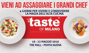 Brand events italy: Taste of Milano 2016: 4giorni per vivere la magia dell'alta cucina, 22 chef e 76 piatti per un'esplosione di gusto
