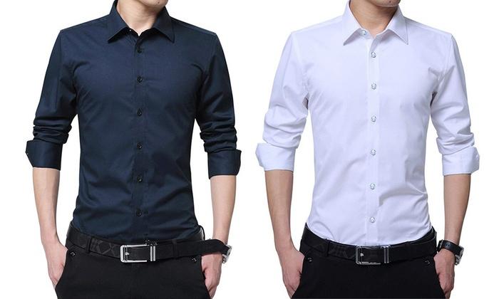 b8757ed551 Fino a 62% su Set camicie con taglio sartoriale | Groupon