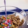 Menú de cereales y leche
