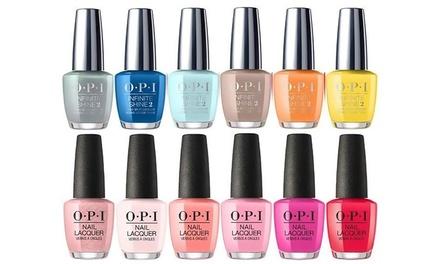 Zesdelige nagellakset van het merk O.P.I