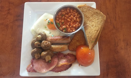 Full English Breakfast for Two at Mary Rowntrees