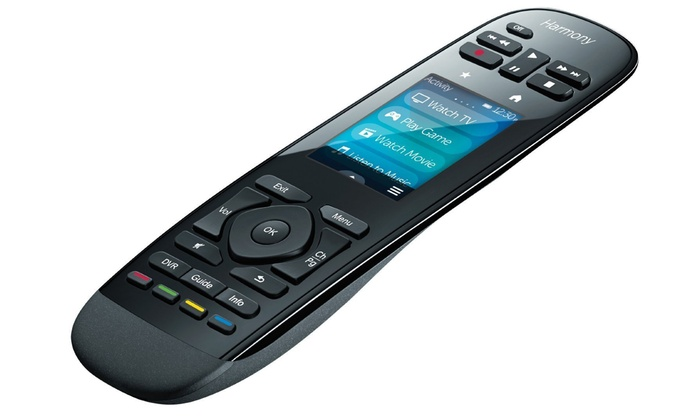 Logitech Harmony Ultimate One IR Remote with Custom Touchscreen Control
