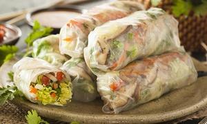 Le Mékong: Menu midi et soir avec apéritif, entrée, plat, dessert, café et saké pour 2 ou 4, dès 49,99 € au restaurant Le Mékong