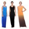 Women's V-Neck Ruched Maxi Dress