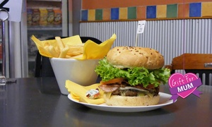 Bilby's Chargrilled Burgers: Burger and Fries for One ($10), Two ($15) or Four People ($29) at Bilby's Chargrilled Burgers (Up to $60.40 Value)