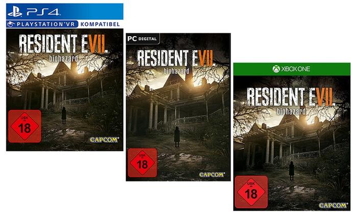 McGame.com GmbH: Resident Evil 7 biohazard für PC, PS4 oder Xbox One (bis zu 30% sparen*)