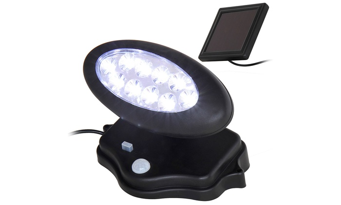 Projecteur solaire led pour l 39 ext rieur groupon shopping for Projecteur led exterieur solaire