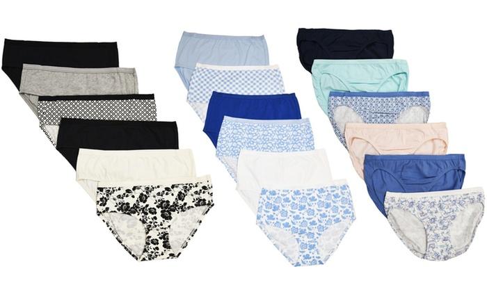 fa109ac3b23 Cherokee Cotton Stretch Panties (6-Pack)