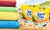 Groupon Goods Global GmbH: Set de 56, 140 ou 280 Pods Super croix 2en1 Seychelles aux Fleurs d' hibiscus et lait de vanille