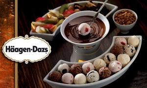 Haagen Dazs: Fondue de chocolat Häagen-Dazs pour 2 personnes à 19 € chez Häagen Dazs