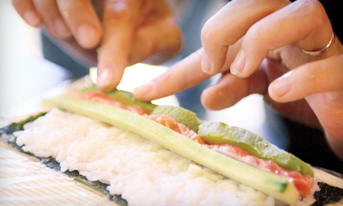 Sushi Yoko - Fort Worth: 90-Minute Sushi-Making Class for Two or Four at Sushi Yoko (Up to 55% Off)