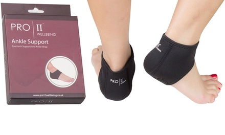 Up to Four Pairs of Absorbing Heel Wraps