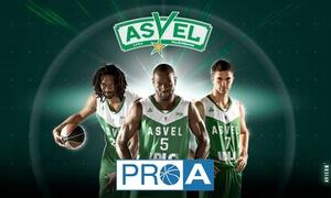 ASVEL Basket: 2 ou 4 places pour le match de Gala Asvel vs Le Portel le samedi 29 octobre à 20h dès 15 €