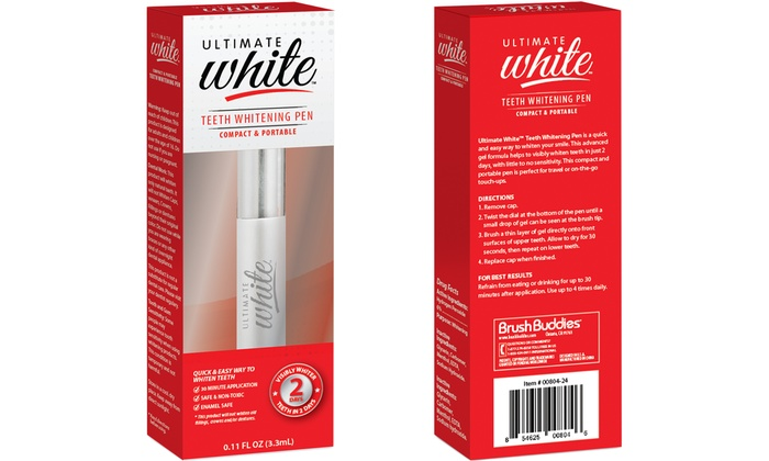 Up To 40 Off On Teeth Whitening Pen Groupon Goods