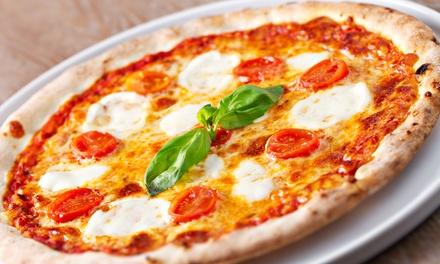 Menú para 2, 4 o 6 personas con pizza, bebida y postre desde 11,95 € en Restaurante Pizzeria Mi Piace
