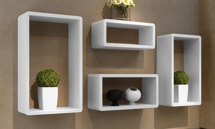 Cuboid Shelves Set