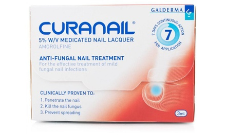 Loceryl Curanail 5% Medicated Nail Lacquer 3ml