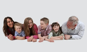 Hallmark Photography: Group Photoshoot With Print and Shared Canvas for £10 at The Hallmark Studio (98% Off)