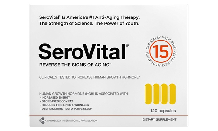 SeroVital Anti-Aging HGH Supplement (120-Count)
