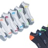 Men's FILA Moisture Wicking No Show Socks (12-Pack)