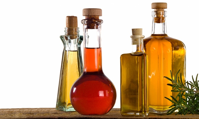 Pure Mountain Olive Oil - Multiple Locations: Small or Large Gift Basket or $10 for $20 Worth of Oils and Vinegars at Pure Mountain Olive Oil