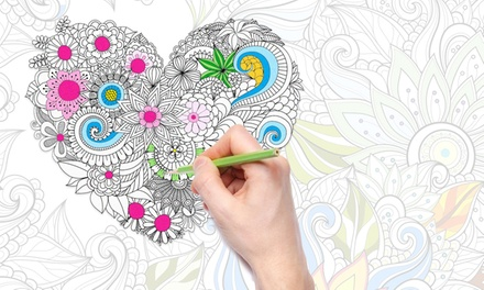 $19 for an Online Adult Coloring Course from Dynamic E-Course ($760 Value)
