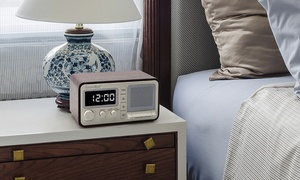 SoundBot SB1026 FM Alarm Clock Speaker with USB Charging Port
