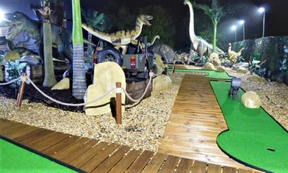 image for Jurassic Adventure Mini Golf for Up to Five at Wokingham Family Golf (Up to 50% Off)