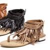 French Blu Coyote Women's Flat Sandals