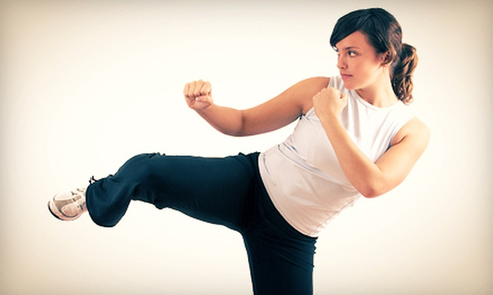 Studio Fitness - Walker Farm: 5 or 10 Cardio Kickboxing – Turbo Kick Classes at Studio Fitness (Up to 70% Off)