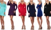 Women's Cold Shoulder Dress (3-Pack)