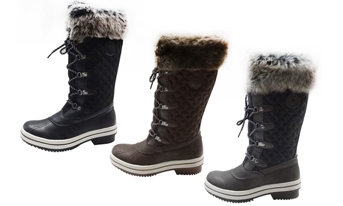 4d86999e69f11 Up To 50% Off on ArcticShield Women's Snow Boots | Groupon Goods