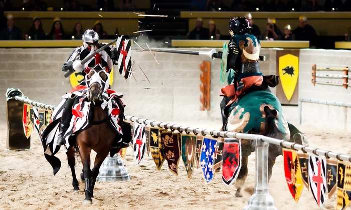Medieval Times - Medieval Times: Medieval Times Tournament for One Child or Adult with Four-Course Dinner and Optional Royalty Package (Up to 45% Off)