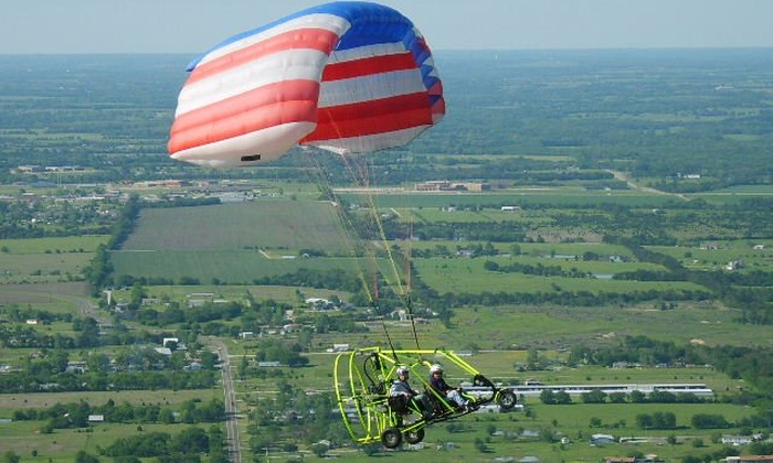 Future Flight, LLC - Princeton: $99 for a Powered-Parachute Ride Over Lake Lavon from Future Flight, LLC ($199 Value)