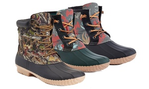 Solo Men's All Weather Water Proof Rubber Outdoor Duck Boots