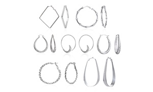 7 Day A Week Hoop Set In Sterling Silver at 7 Day A Week Hoop Set In Sterling Silver, plus 6.0% Cash Back from Ebates.