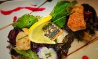 6-Gänge-Gourmet-Menü mit Lachs und Black Angus Filet für 2 Personen im Steak & Grill Restaurant In Woma (27% sparen*)