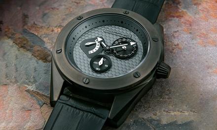 Montre de luxe de la marque Morphic, collection M46 Series, Quartz Multifonctions