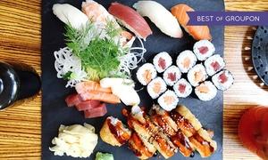 Jingu: 3-Gänge-Sushi-Menü für 2 oder 4 Personen im Restaurant Jingu (bis zu 56% sparen*)
