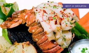 Jamil's Steakhouse: Lobster Meal for Two or Four at Jamil's Steakhouse (Up to 48% Off)