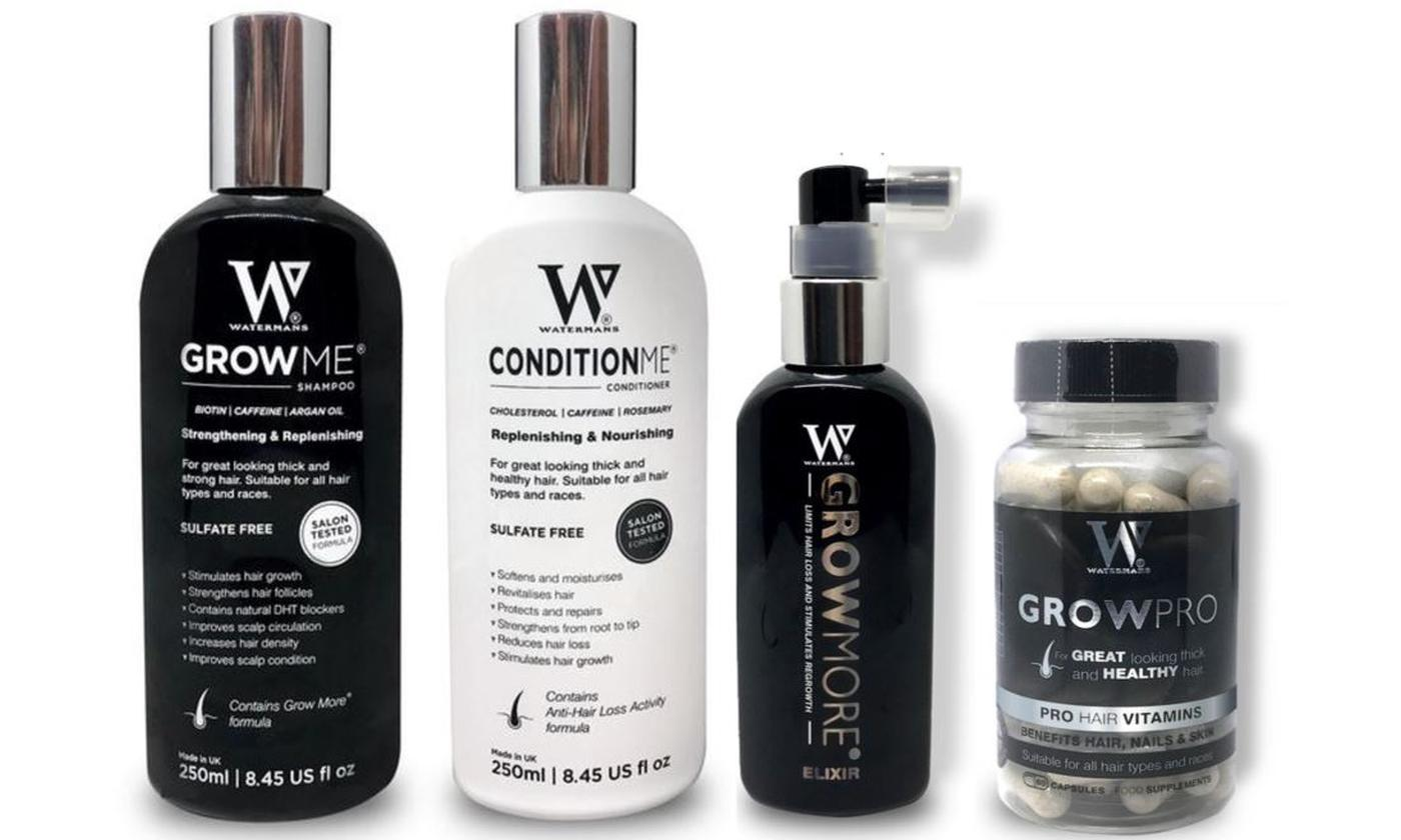 Watermans Grow Me Shampoo, Conditioner, Elixir or Vitamins (£9.98)