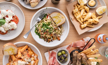 ThreeCourse Italian Meal + Wine: Two $35, Four $70 or Six People $105 at Mamma's Boy Trattoria Up to $240 Value