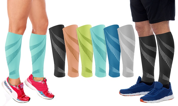 f1de3f2c69 Up To 89% Off on Calf Compression Sleeves | Groupon Goods