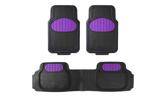 Up To 62 Off On Universal Floor Mat Set 3 Pc Groupon Goods